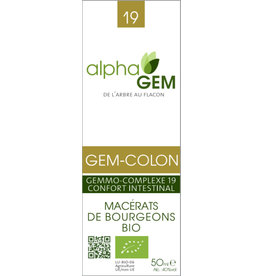 Gemmotherapie GEM-COLON BIO 50ml, alphaGEM