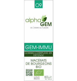 Gemmotherapie GEM-IMMU BIO 50ml, alphaGEM