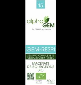 Gemmotherapie GEM-RESPI BIO 50ml, alphaGEM