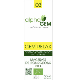 Gemmotherapie GEM-RELAX BIO 50ml, alphaGEM