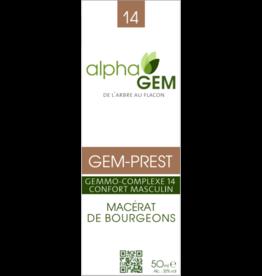 Gemmotherapie GEM-PREST BIO 50ml, alphaGEM