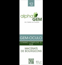 Gemmotherapie GEM-OCULO BIO 15ml, alphaGEM