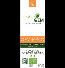 Gemmotherapie GEM-TONIC BIO 50ml, alphaGEM