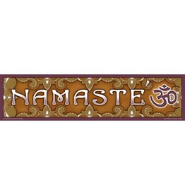Bumpersticker Namaste