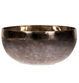 Klankschaal Ishana zwart/goud 18,5cm (1200gr)