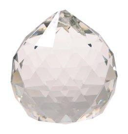 Regenboogkristal bol transparant AAA kwaliteit 4cm