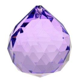 Regenboogkristal bol violet AAA kwaliteit