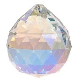 Regenboogkristal bol parelmoer AAA kwaliteit