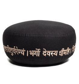 Meditatiekussen Gayatri mantra bio-katoen
