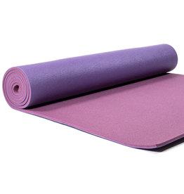 Yogi & Yogini yogamat deluxe paars 60x183x0.6cm