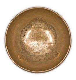 Medicijn Boeddha klankschaal 13cm