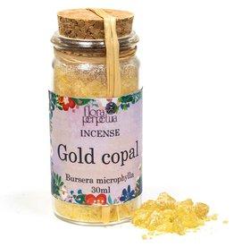 Wierookhars Goud Copal