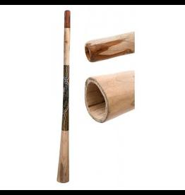 Didgeridoo teak beschilderd 150cm