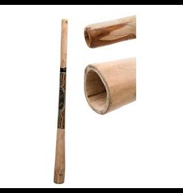 Didgeridoo teak beschilderd 130cm