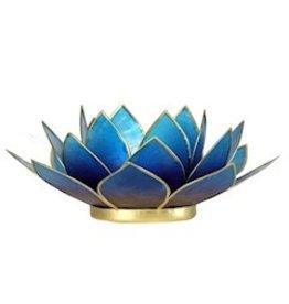 Lotus sfeerlicht violet - Blauw  13,50 cm