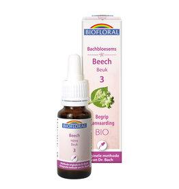 Bachbloesems Beech/Beuk Nr3, 20ml, Biofloral