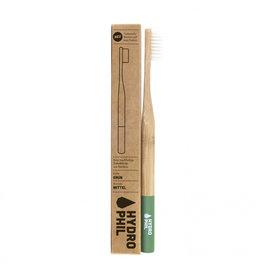Duurzame tandenborstel - groen - medium zacht