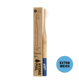 Duurzame tandenborstel - donkerblauw - extra zacht