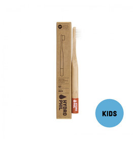Duurzame kindertandenborstel - rood - extra zacht