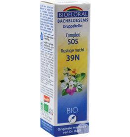Bachbloesems Complex SOS Rustige nacht 39N, 20 ml, Biofloral