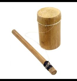 Rommelpot - bamboe en buffelhuid