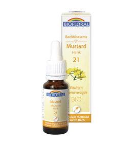 Bachbloesems Mustard/Herik Nr21, 20ml, Biofloral