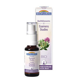 Bachbloesems Spray Complex Examens/Studies, 20 ml, Biofloral