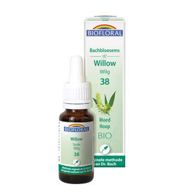 Bachbloesems Willow/Wilg Nr38, 20ml, Biofloral