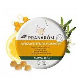 Verzachtende gommen met honing en citroen BIO 45g, Pranarom
