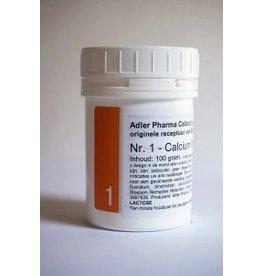 Celzout nr 1 Calcium Fluoratum 100g, Adler