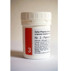 Celzout nr 3 Ferrum Fosforicum 100g, Adler