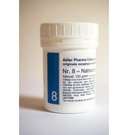 Celzout nr 8 Natriumchloride 100g, Adler