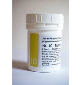 Celzout nr 10 Natrium Sulfuricum 100g, Adler