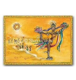 Celebrate Vibrate Radiate Shakticard