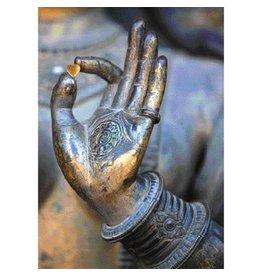 Van Boeddha met liefde wenskaart