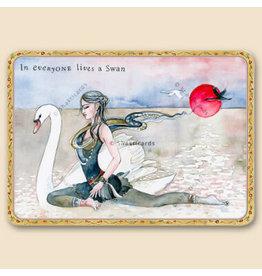 In everyone lives a swan Shakticard