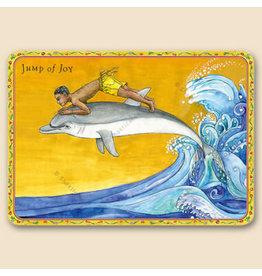 Jump of Joy Shakticard
