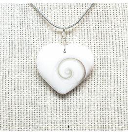 Shiva Eye hartvorm hanger