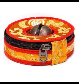 Hoesje voor Tingsha's oranje/rood Small