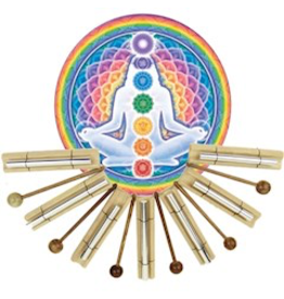 Klankstaaf 'Chakra healing' Gestemd