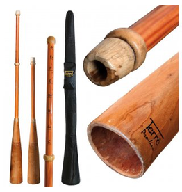 Slide didgeridoo hout & PVC