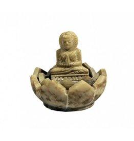 wierookhouder boeddha zeepsteen