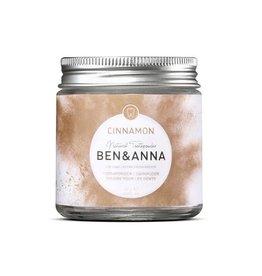 Vegan tandpoeder, cinnamon, Ben & Anna,  100ml
