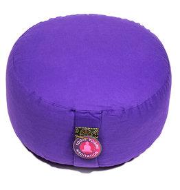 Meditatiekussen violet extra hoog bio 36x22cm, 3200gr