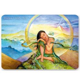 Dream, Create, Rest Shakticard