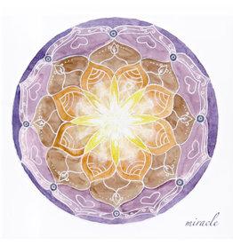 Miracle Soulflower Mandalakaart, 14,7 x 14,7cm