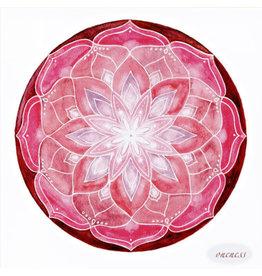 Oneness Soulflower Mandalakaart, 14,7 x 14,7cm
