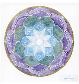 Intuition Soulflower Mandalakaart, 14,7 x 14,7cm