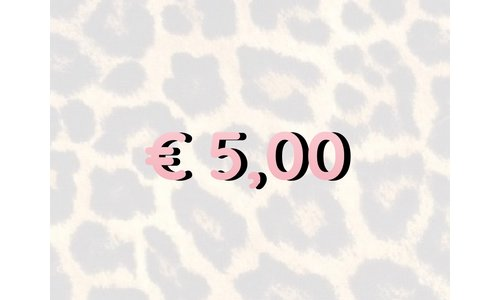 € 5,- Items