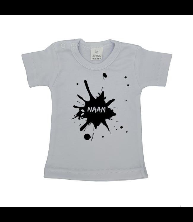 T-shirtje Wit met tekst